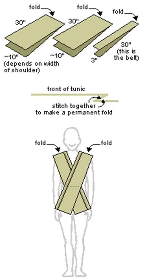 tutorial tunica jedi how to make a jedi robe