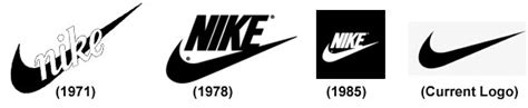 logo history of nike large corporate companies simplified their logos