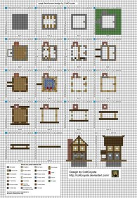 minecraft house blueprints layer by layer 1000 ideas about minecraft blueprints on pinterest