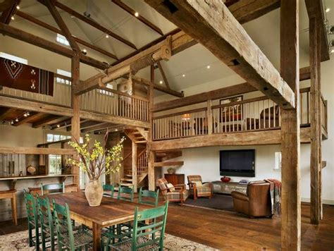 barn house interior iden barn homes barn to home conversion pinterest