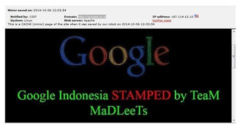 google images indonesia google search page defaced in indonesia hackbusters