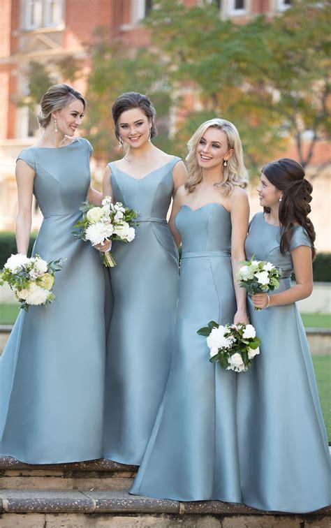 classic chic bridesmaid dress sorella vita bridesmaid gowns