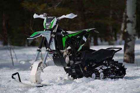 Suzuki Snow Bike Arctic Cat 2017 Svx 450 Snowbike Snow Bike World