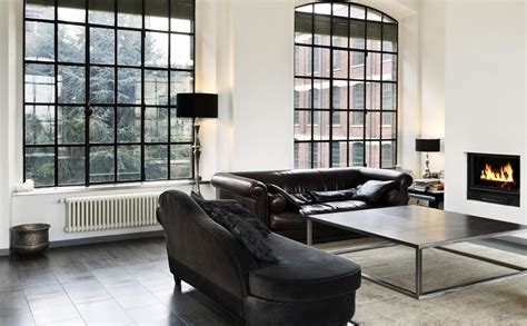 witte gordijnen grijs verven zwart wit interieur ontwerpen tips inspiratie