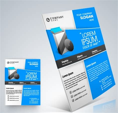 stylish business flyer template design 05 over millions