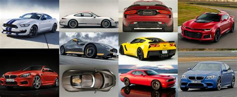 Bauanleitung Auto by Here Are The Most Powerful Cars With A Manual Transmission