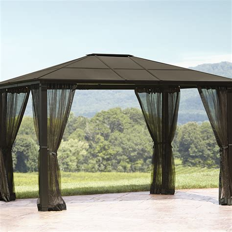 hardtop gazebo 10x10 sears outlet coupons for grand resort hardtop gazebo