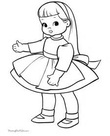 doll coloring pages coloring home