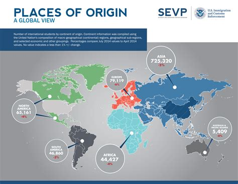 trends 1 students 2014 sevis by the numbers latest trends on international students study in the states