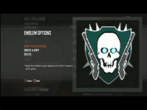 zombie emblem tutorial call of duty black ops 2 max zombie rank emblem tutorial