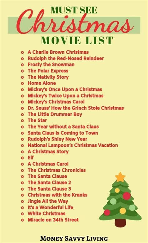advent calendar ideas  christmas classic christmas movies christmas movies list advent