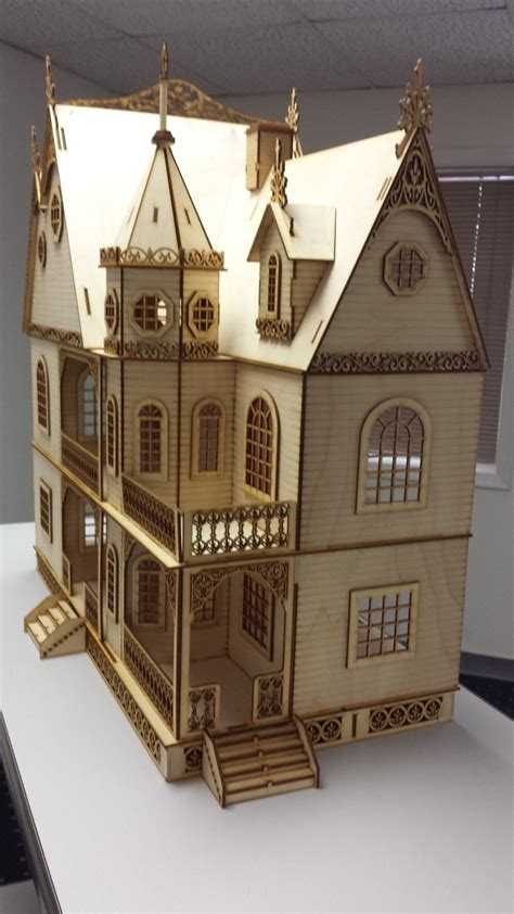 gothic doll house jasmine gothic victorian dollhouse half inch scale large kit