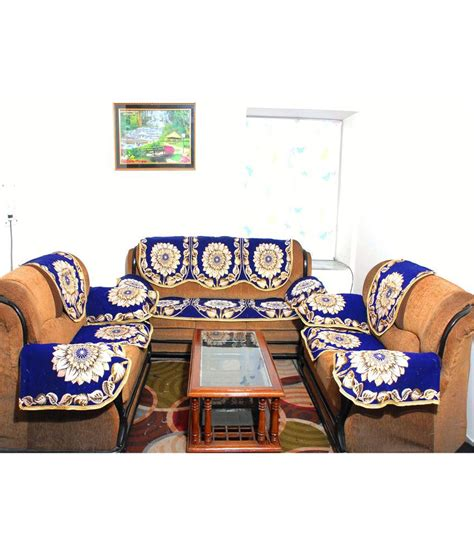 sofa cover set of 16 fab nation 5 seater polyester set of 16 sofa cover set