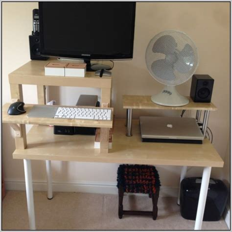ikea standing desk hack ikea computer desk hack desk home design ideas