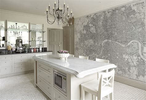 designer kitchen wallpaper custom printed map wallpaper murals contemporary