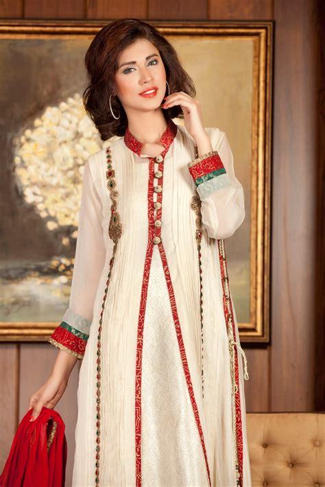 dress design in white colour off white pakistani party dress exclusiveinn com
