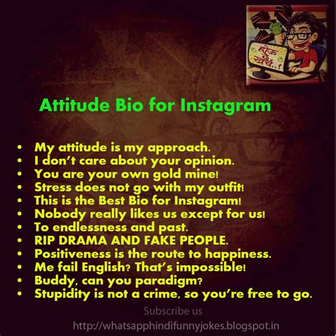 attitude biography for facebook whatsapp funny hindi jokes