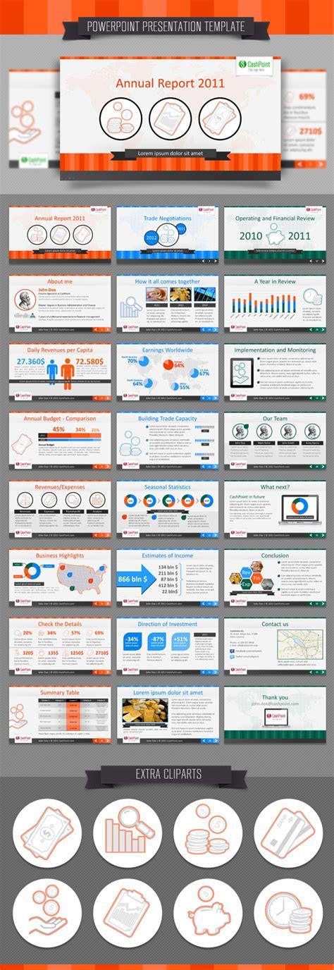 Financial Report Powerpoint Presentation Template Financial Report Fullhd Powerpoint Template Psdbucket Com