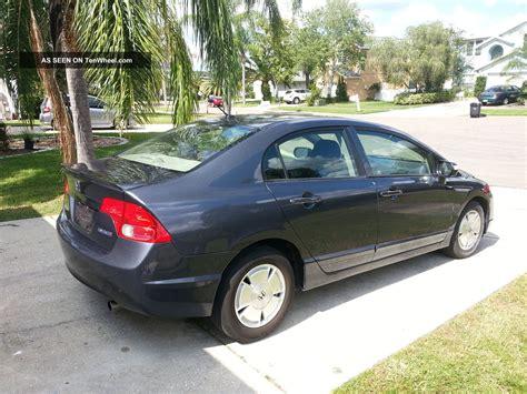 4 Door Honda Civic by 2008 Honda Civic Hybrid Sedan 4 Door 1 3l