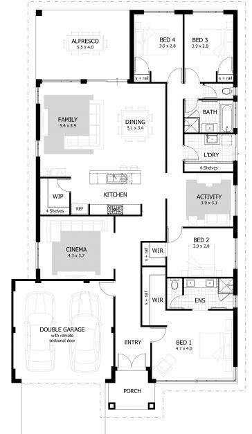 ross bungalow 4 bedroom floor plan 4 bedroom bungalow floor plans house floor plans