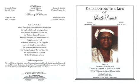lucille rounds obituary aa rayner and sons funeral home