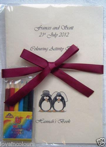 ideas  wedding activity book kids
