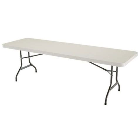 8 Ft Folding Table by Lifetime Products Almond 4 Pack 8 Ft Folding Banquet Tables