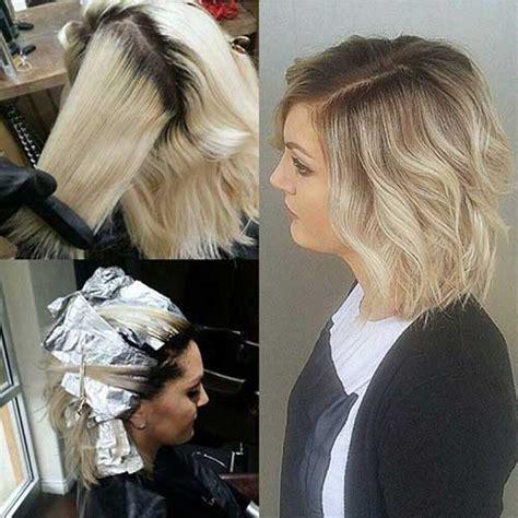 balayage blonde hair bob 15 balayage bob hair short hairstyles 2017 2018 most