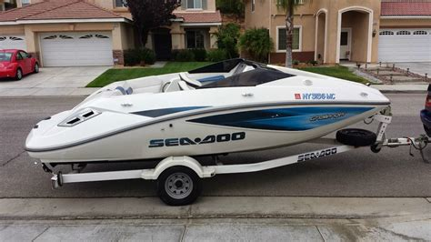2007 sea doo challenger 180 for sale sea doo challenger 180 scic 215hp boat for sale from usa