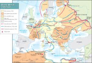 Wwii Europe Map by World War Ii 1942 43 History Hub