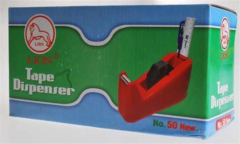 Dispenser Cutter Lakban Dan Tempat Alat Tulis Model Green dispenser no 50 merk toko grosir alat tulis kantor toko atk murah
