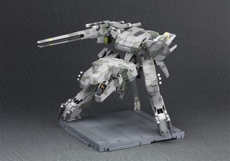 theangryspark metal gear rex comes home