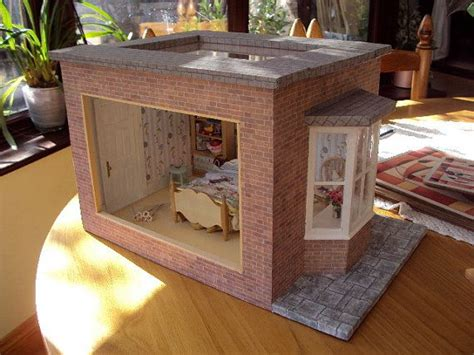 Dolls House Miniature Decorated Room Box