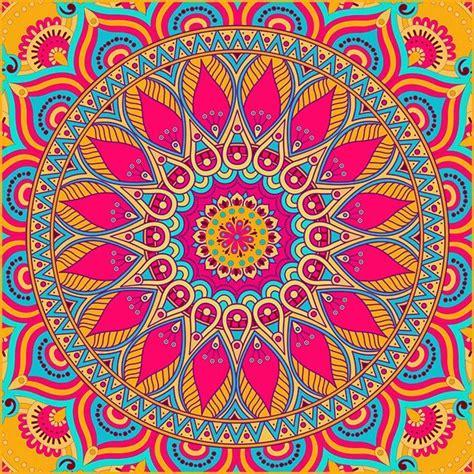 imagenes mandalas de colores mandalas para colorear 1z bordados pinterest