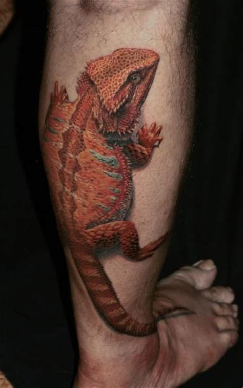 bearded dragon tattoo designs mao bartagame bearded and tatting