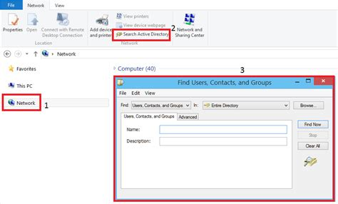Search For And Groups Windows How To List The Users And Groups Of An Ad Security When Not A Domain