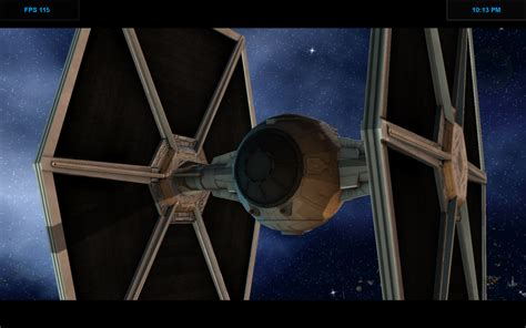 new tie fighter model eaw2 1 16 2013 image wars