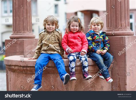 soap two girls and one boy three siblings two boys one stock photo 201828874
