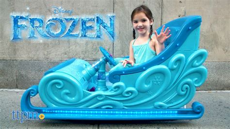 frozen power wheels sleigh disney frozen 2 seat frozen sleigh 12 volt electric ride