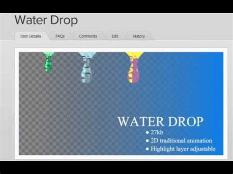 download video tutorial beatbox water drop full download water drop short flash animation