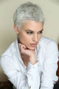 Very short pixie haircuts for old women