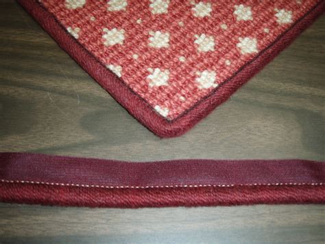 how to bind a rug by instabind diy cotton serge style carpet binding bond products inc