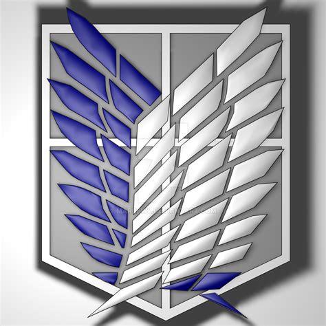 Attack On Titan Shingeki No Kyojin Corps Survey Jaket Hoodie Anime shingeki no kyojin recon corps symbol by marcfwl on deviantart