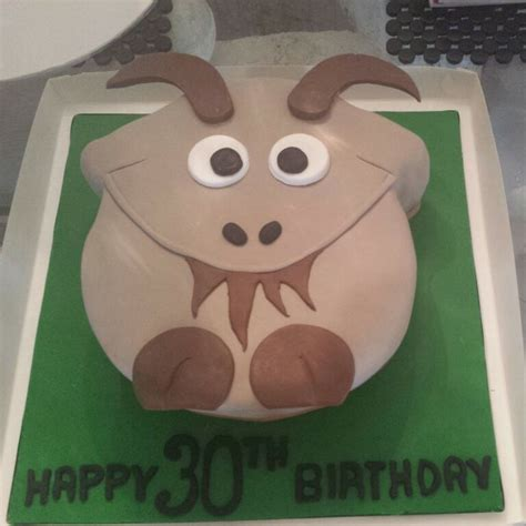 theme names for goats goat themed cake sugarlicious cakes by helen my