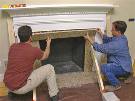 how to reface a fireplace refacing fireplace with veneer