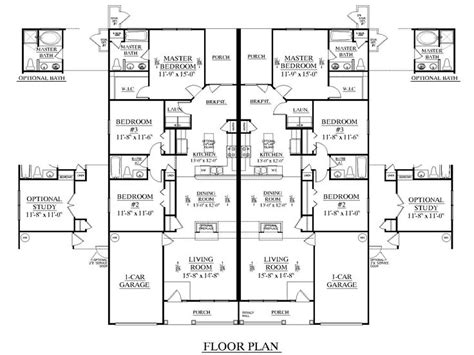 duplex plans 3 bedroom 3 bedroom duplex floor plans duplex plan 1392 a picmia
