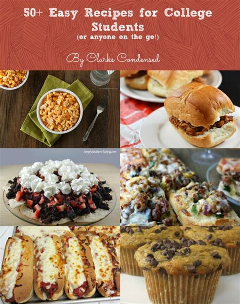 Easy Detox Diets For College Students by 50 Easy Recipes For College Students