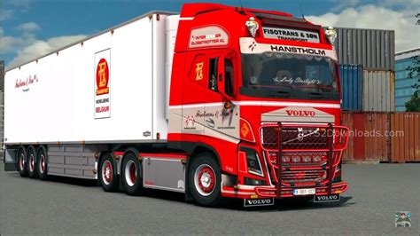 fh volvo volvo fh16 540 fisotrans v2 mods world
