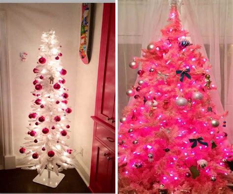 pink christmas tree best images collections hd for
