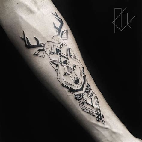 dotwork tattoo manila the 25 best geometric tattoo animal ideas on pinterest